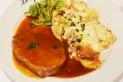 Roti de porc et gratin dauphinois