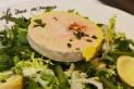 Foie gras sur salade